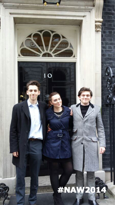 Apprentices Downing Street