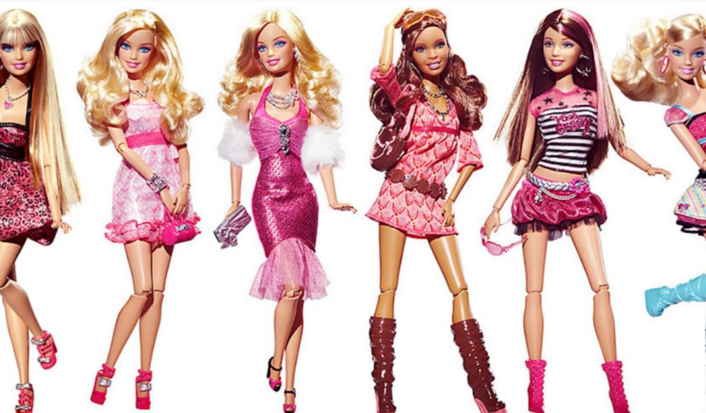 Barbie web op