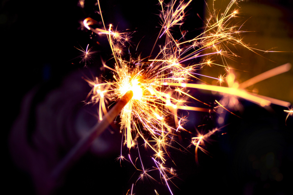 Sparklers by Ben K Adams