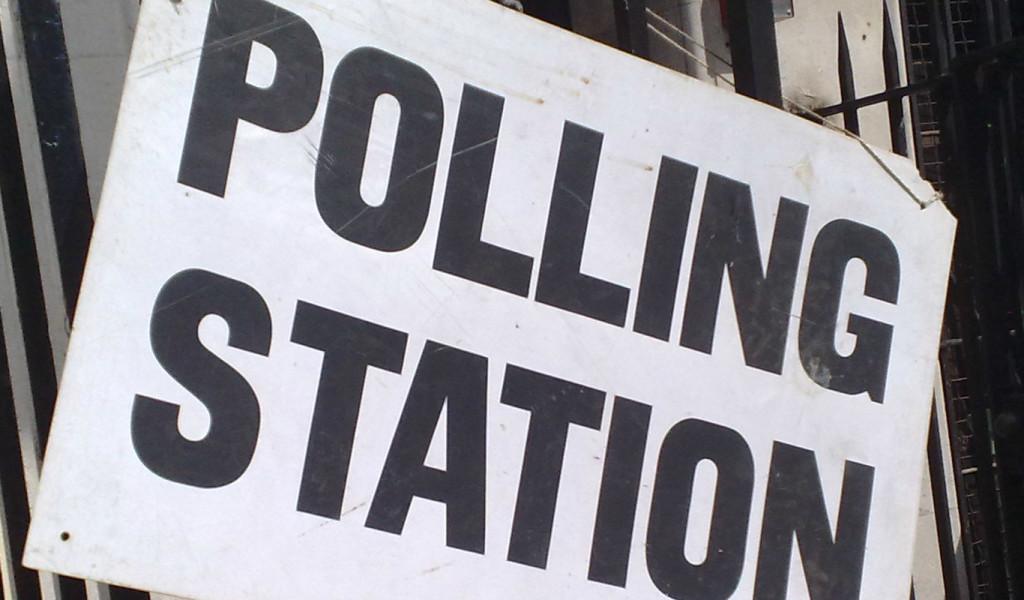Polling station web op