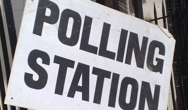 Polling station web op